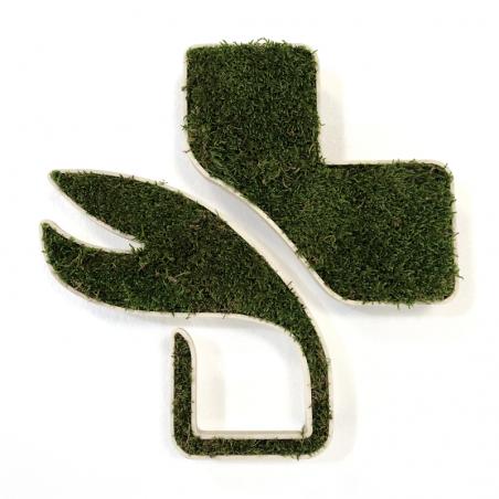Croix de pharmacie végétale